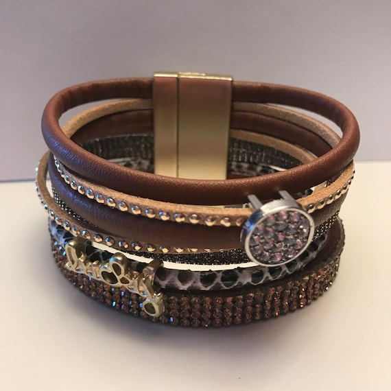 Bling Stacked Cuffs