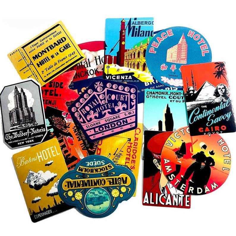 Sticker Pack Custom Stickers Travelers Stickers World Traveling Stickers Laptop Stickers Vinyl Stickers 50pcs Planner Stickers