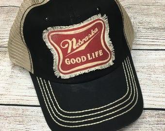 Nebraska Good Life Trucker Hat