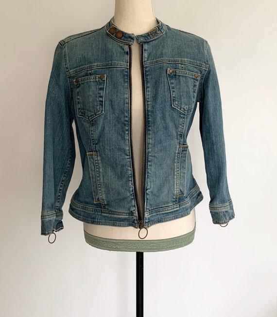 calvin klein jeans rugged classic women denim coat