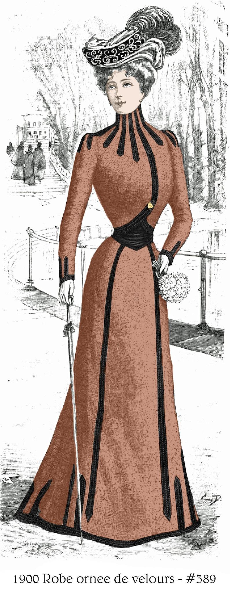 5 Victorian Edwardian Wedding Dress Fashion Prints Reproduction Pictures NEW Set