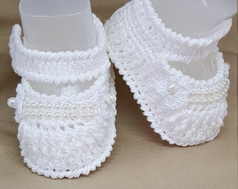 Nina Crochet Shoes