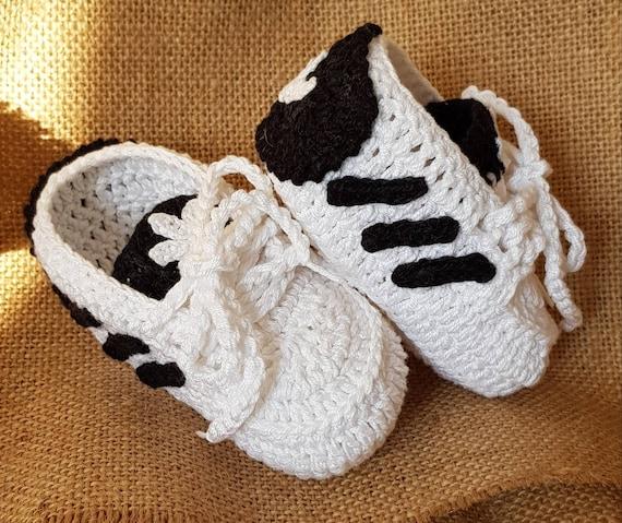 Adidas Etsy Gqx0ew0tnz Uncinetto Scarpine Per Style Neonato In Fqcftxoz1