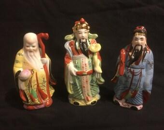 Set of three wise men