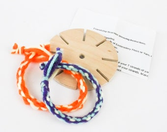 Friendship Bracelet Weaving Loom with Instructions, Great for Art Projects
