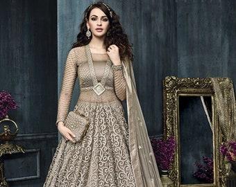 eaae2d2c596 Trendy Zoya Bollywood Anarkali Lehnga