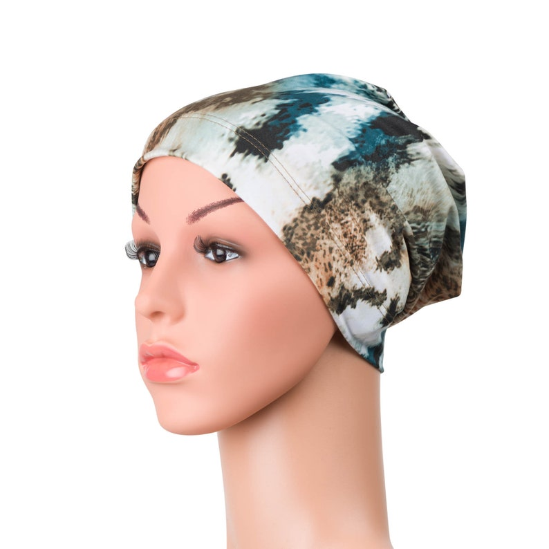 Comfortable Sleep Hat For Cancer Patients With Hair Loss Chemo Beanie Chemotherapy Headwear Chemo Hats are Ideal Breast Cancer Gifts
