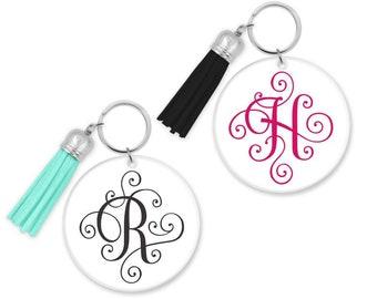 Tassel key chain | Etsy