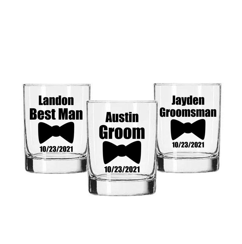 Groom Decal Best Man Decal Groomsman Decal Wedding Party image 0