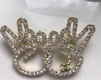 6fece16bc Luxury Peace Sign Brooch