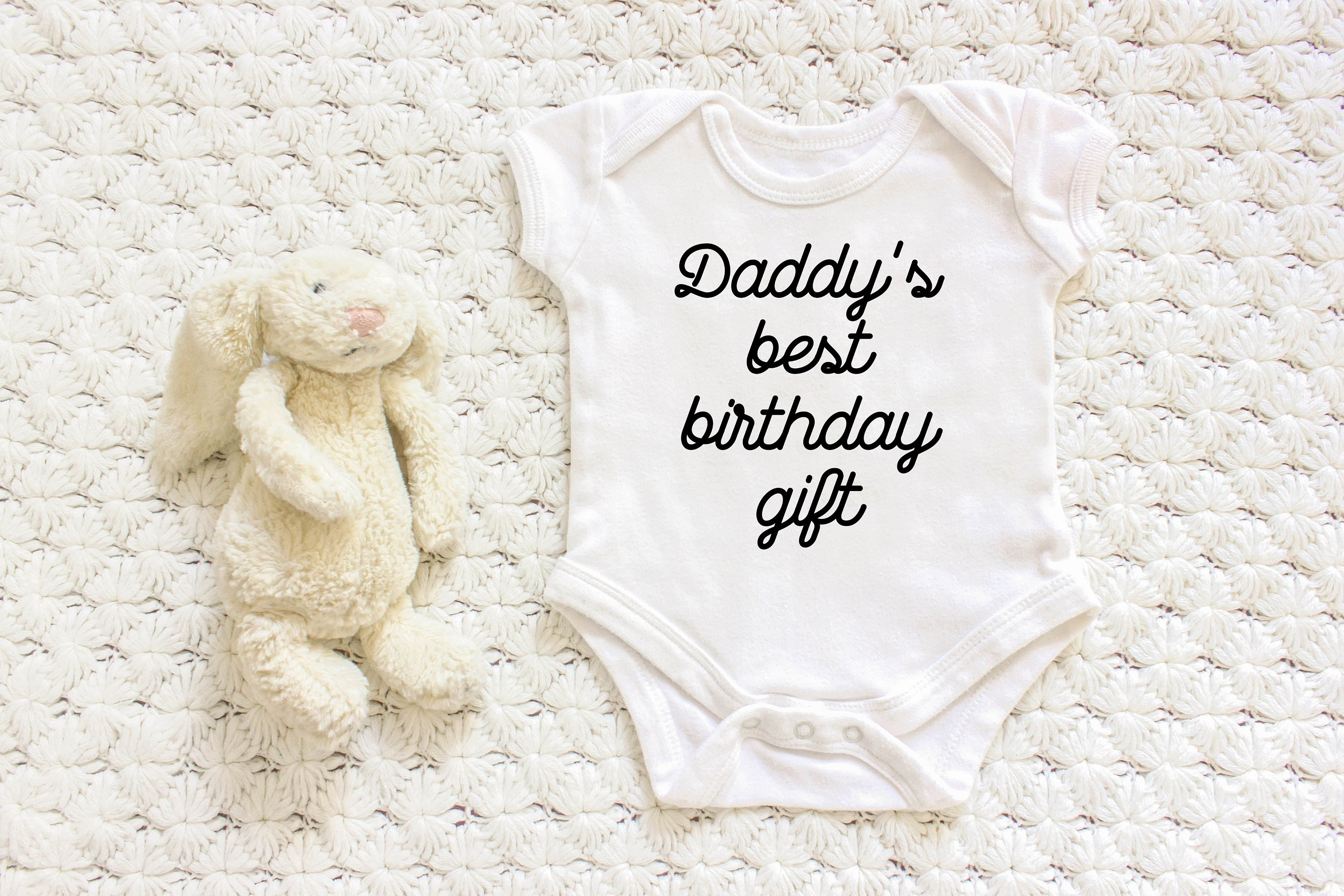 Daddy Birthday Giftnew Dad Dadbaby Onesienew