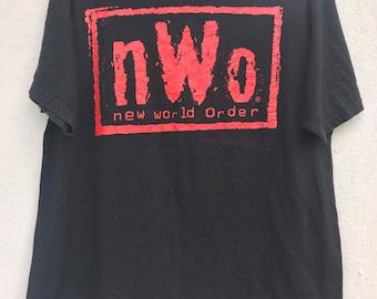 97e85fb62521 Vtg 90s New World Oder (nWo) t shirt