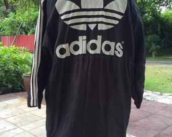 ef07a1c715e Vintage 90s Adidas jacket big logo