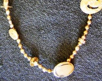 Golden Treasures Necklace