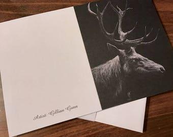 Elk Notecards