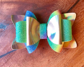 Multi colored Hair Bow