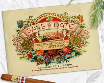 Save the Dates, digital file, you print, Birthday, Baby Shower, Wedding, Event