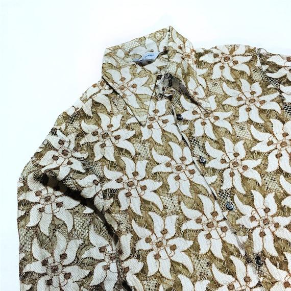 Vintage Floral Lace Top