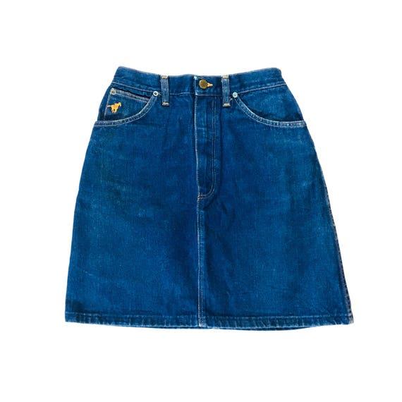 Vintage Wrangler Denim Skirt
