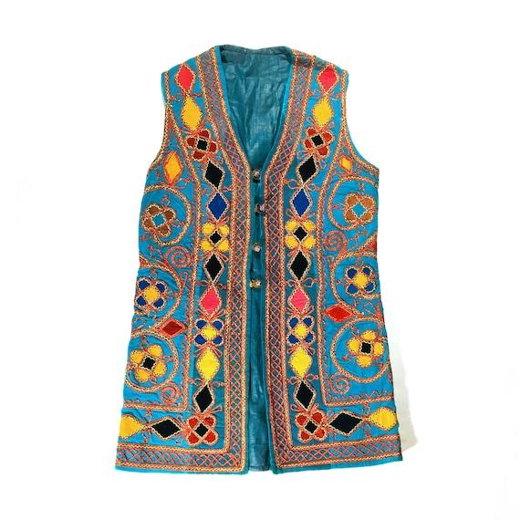Vintage Boho Festival Vest