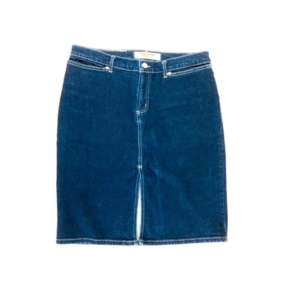 Vintage Paris Blues Denim Skirt