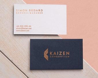 Custom Business Cards Etsy - Custom business card template