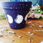 Moon Phase Planters