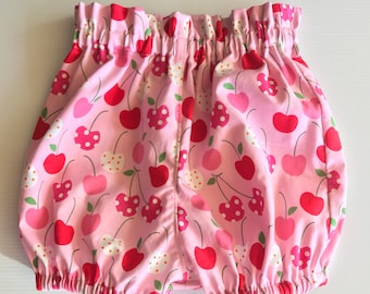 High waist paper bag nappy cover, diaper cover, bloomers, baby toddler