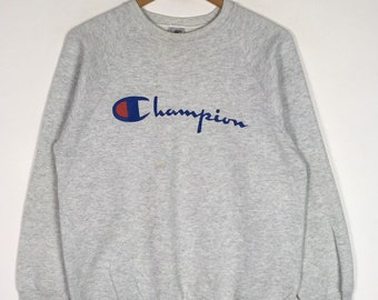 e553fa0e423 Vintage 90s Bootleg Champion big logo Sweatshirt