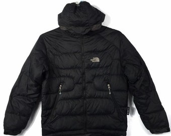 7e79818289 The North Face Puffer goose down hoodie jacket black colour Medium size
