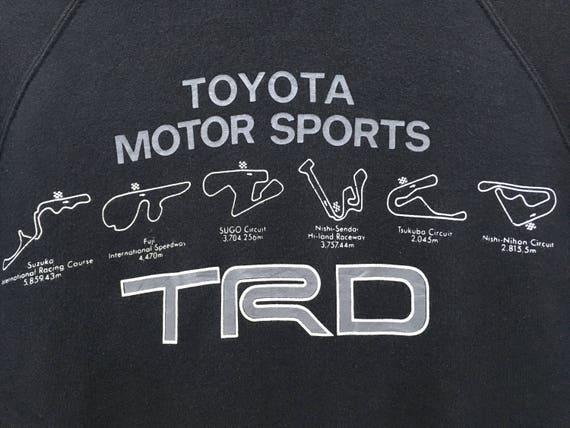 Toyota TRD Toyota Motor Sport Racing Team Sweatsh… - image 3