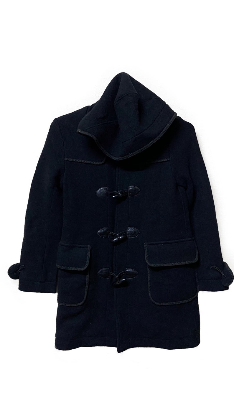 Hysteric Glamour wool hoodie jacket black colour