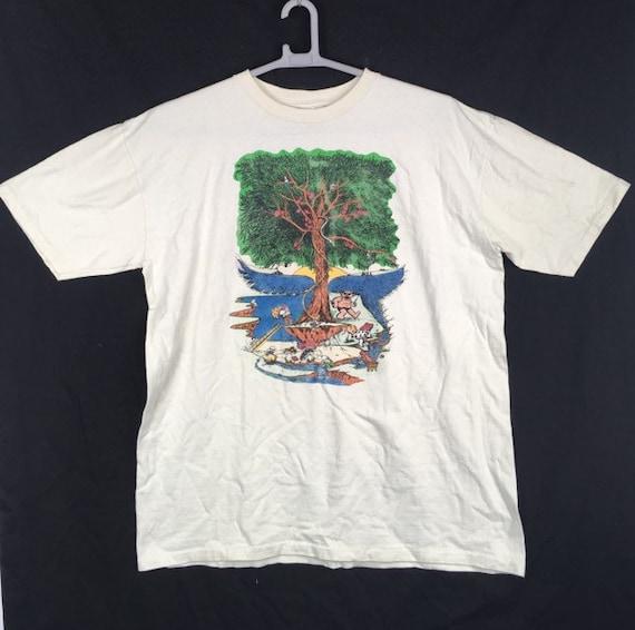 90s vintage Grateful Dead T-shirt hippie T-shirt X
