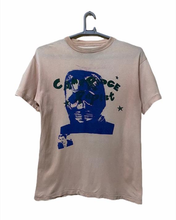 Vintage Cambridge Rapist punk t shirt, anarchy cha