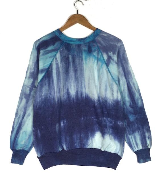 Vintage 70s Tye Dye Sweatshirt L size
