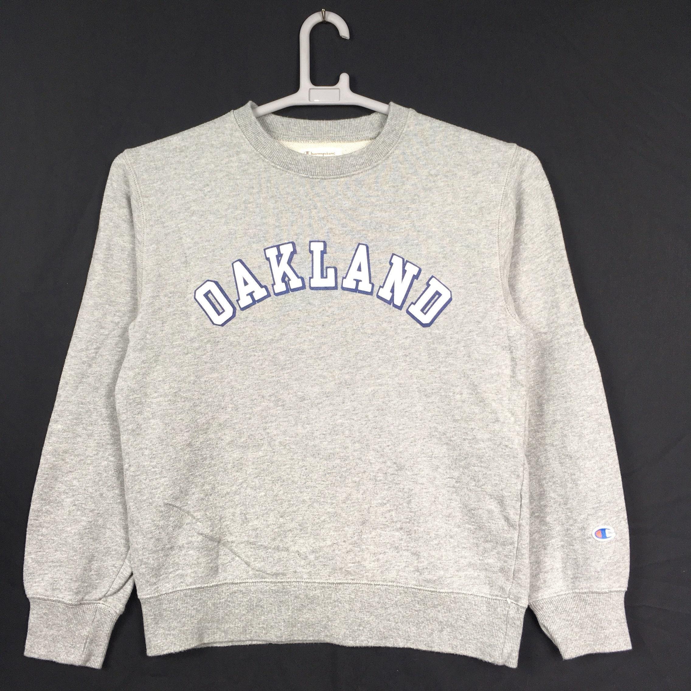 90 s M Taille Champion Oakland Sweatshirt M s 40fea5