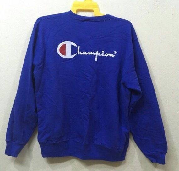 Champion sweatshirt XL size blue colour