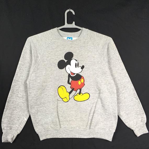 80s Mickey Mouse Disney Sweatshirt M size