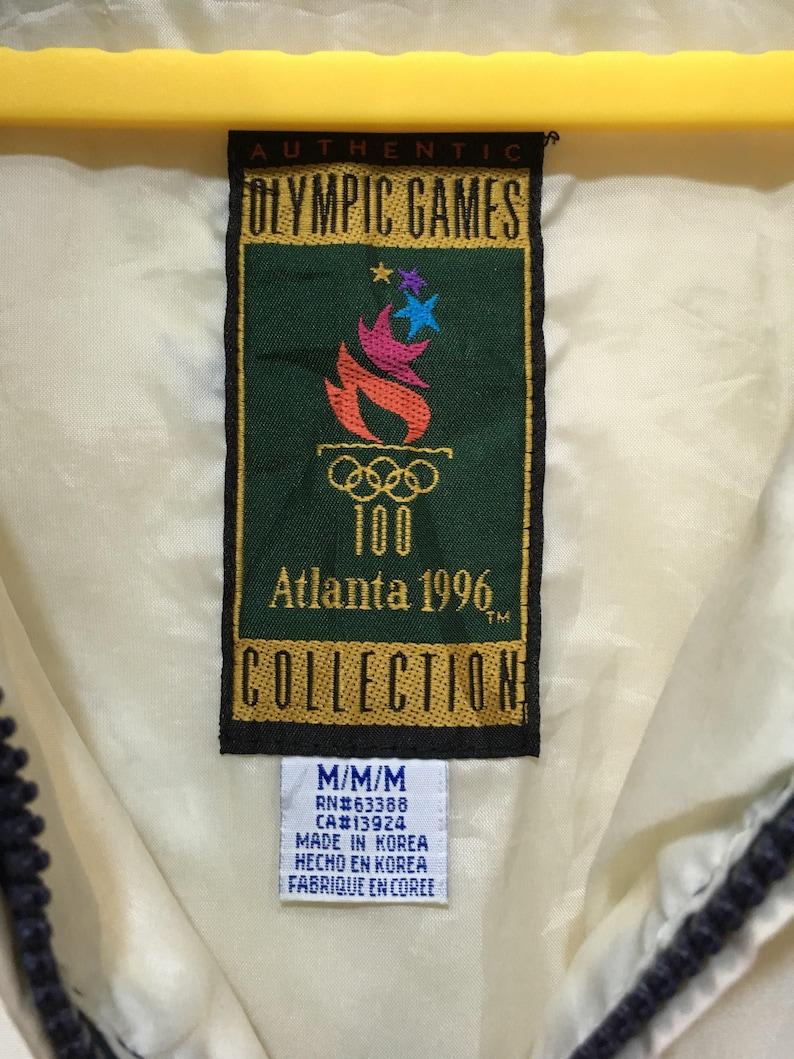 90s Vintage Olympic Atlanta 1996 USA team Winbreaker jacket M size