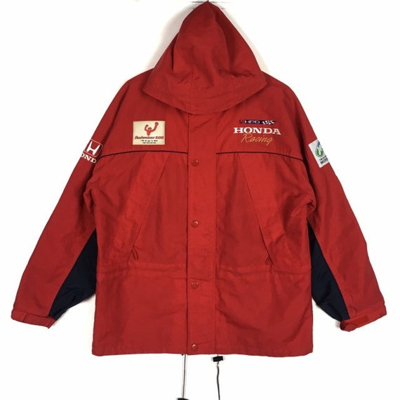 Vintage Honda Racing Team jacket  / Mugen racing … - image 3