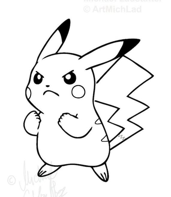 ähnliche Artikel Wie Coloring Page Pokemon Ausmalbild