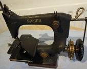 Antique Singer Model 24 Chain Stitch Sewing machine Vintage Machine,vintageHomeDecor