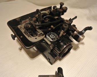 Black Wilcox & Gibbs Overlock Sewing Machine Model T370470