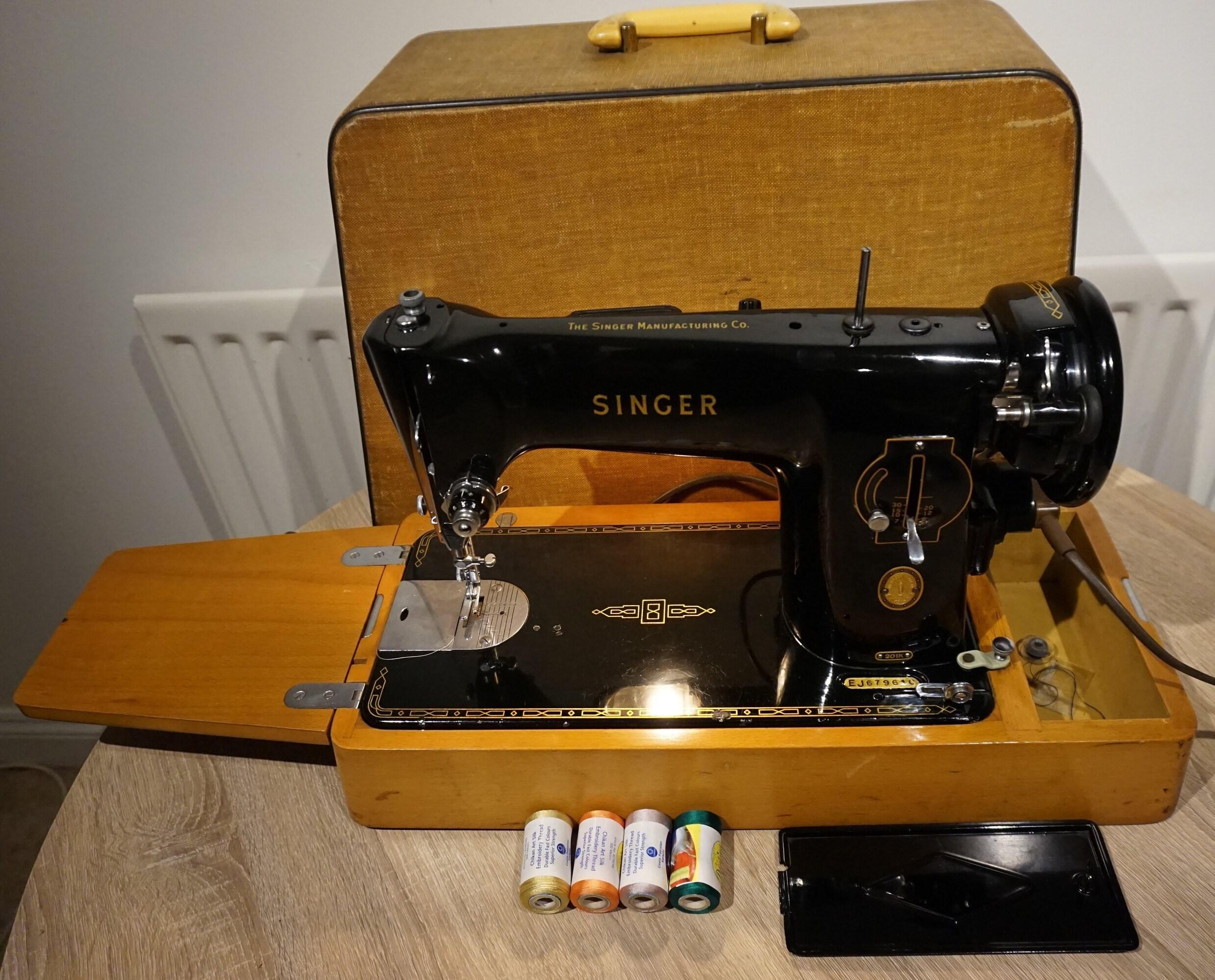 Singer 201K Semi Industrial Sewing Machine Singer vintage ...