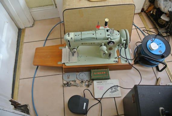 Singer 40K Semi Industrial Heavy MULTI STITCH CAMS Machine Etsy Custom Singer Industrial Sewing Machine Instruction Manual