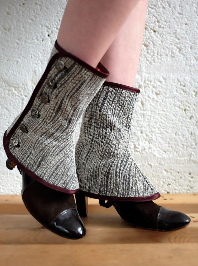 Spats / Shoe Boot Covers / Grey