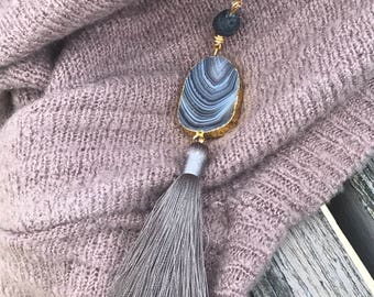 Beautiful Aromatherapy Essential Oil Diffuser Necklace