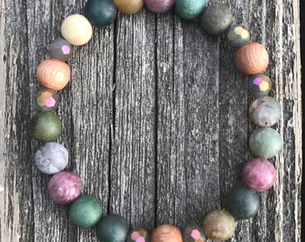 Beautiful Aromatherapy • Essential Oil • Diffuser • Diffuser Bracelet • Gemstone Bracelet • Gemstone Jewelry