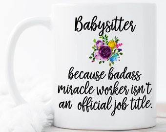Babysitter gift etsy more colors negle Image collections
