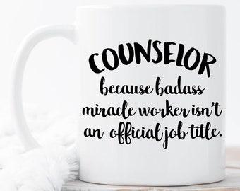 Counselor Coffee Mugs, Funny Counselor Mug, Counselor Coffee Mug, Counselor Gift, Counselor Mugs, School Counselor, Gift for Counselor